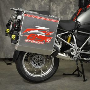 Happy Trails Products Aluminum Pannier Kit DENALI  BMW R1200/1250GSW