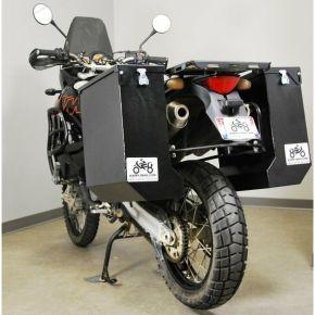 Happy Trails Products Aluminum Pannier Kit DENALI - KTM-LC8-950-990 ADV