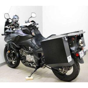 Happy Trails Products Aluminum Pannier Kit DENALI - Suzuki V-Strom 650