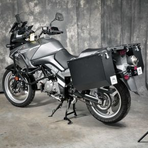 Happy Trails Products Aluminum Pannier Kit TETON BMW R1200GSW