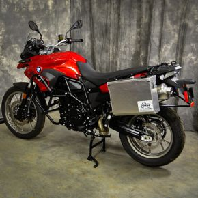 Happy Trails Products Aluminum Pannier Kit IMNAHA BMW F650-F700-F800GS Twin
