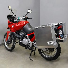 Happy Trails Products Aluminum Pannier Kit DENALI  BMW F650 Funduro