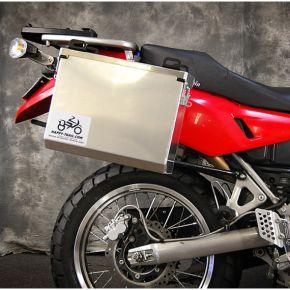 Aluminum Pannier Kit IMNAHA - Kawasaki KLR650E 08+