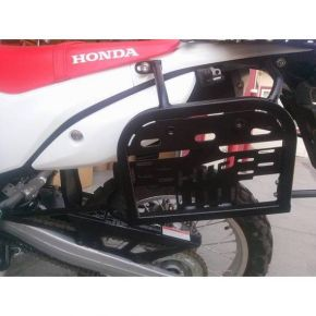 Happy Trails Products Happy Trails SU Side Rack Honda CRF250L & CRF 250L Rally