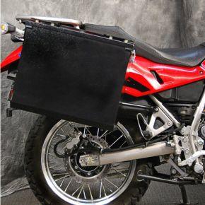 Happy Trails Products Teton Luggage Pannier Kit  for 2022 Kawasaki KLR650