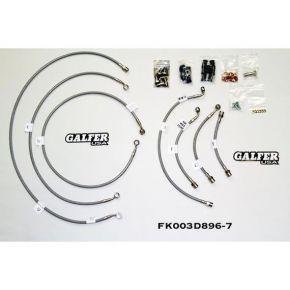 Galfer Braking Galfer SS 7 Complete Line Kit  Honda CRF1000L Africa Twin ABS