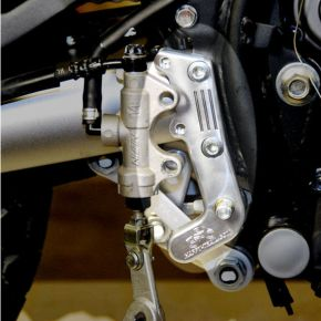 Happy Trails Products Billet Aluminum Rear Brake Mount KLR650 1987-2009