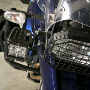 Happy Trails Products BMW F650-F800GS Auxillary Light Brackets