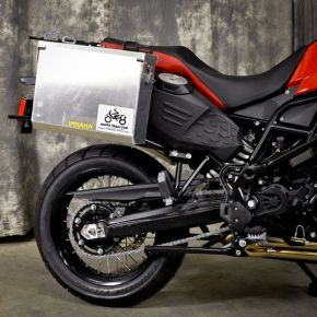 Happy Trails Products Aluminum Pannier Kit IMNAHA BMW F800GS Adventure