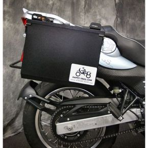 Happy Trails Products Aluminum Pannier Kit IMNAHA - G650GS F650GS Single/Dakar Sertao