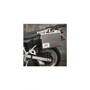 Happy Trails Products Aluminum Pannier Kit IMNAHA Honda Transalp XL600V