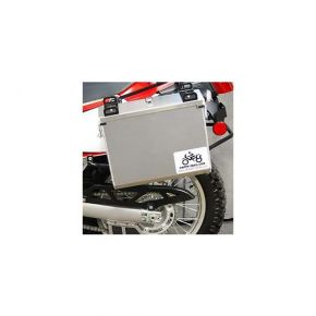 Happy Trails Products Aluminum Pannier Kit IMNAHA Kawasaki Versys