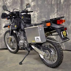 Happy Trails Products Aluminum Pannier Kit IMNAHA - Suzuki DR650