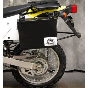 Happy Trails Products Aluminum Pannier Kit IMNAHA - Suzuki DRZ400S/SM