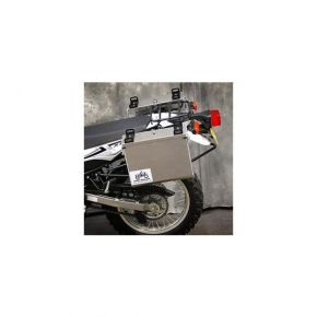 Happy Trails Products Aluminum Pannier Kit IMNAHA Yamaha WR250R