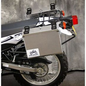 Happy Trails Products Aluminum Pannier Kit IMNAHA Yamaha XT250