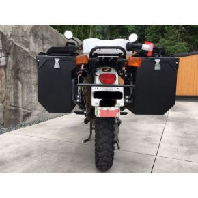 Happy Trails Products Aluminum Pannier Kit - TETON for BMW R100GS