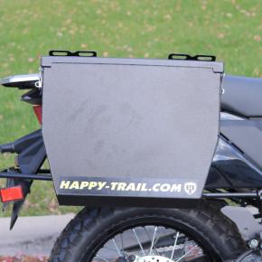 Happy Trails Products Aluminum Pannier Luggage Kit TUCANNON - Kawasaki KLR650 2022+