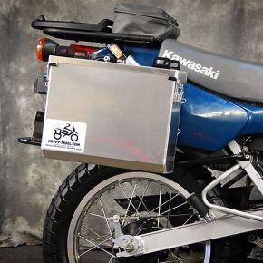Happy Trails Products Aluminum Pannier Kit IMNAHA Kawasaki KLR250