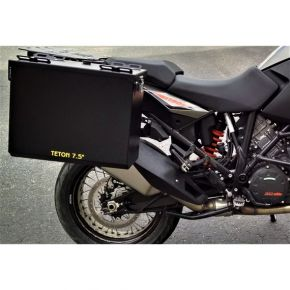 Happy Trails Products Aluminum Pannier Kit TETON -KTM 1190 & 1090 Adventure / R & 1290 Super Adventure