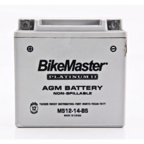 BIKE MASTER AGM BATTERY - MS12-14-BS