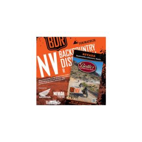Nevada Backcountry Discovery Route Map and DVD Combo