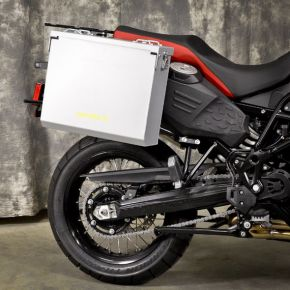Happy Trails Products Aluminum Pannier Kit OWYHEE F800GS Adventure