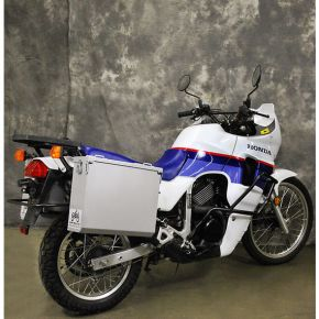 Happy Trails Products Aluminum Pannier Kit OWYHEE Honda Transalp XL600V