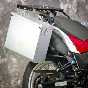 Happy Trails Products Aluminum Pannier Kit OWYHEE Husqvarna TR650 Terra