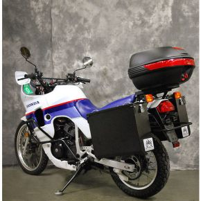 Happy Trails Products Aluminum Pannier Kit TETON Honda Transalp XL600V
