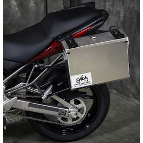 Happy Trails Products Aluminum Pannier Kit IMNAHA Kawasaki Versys 2010-2014