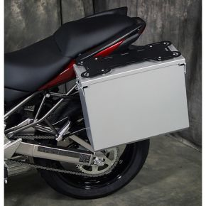 Happy Trails Products Aluminum Pannier Kit TETON Kawasaki Versys 2010-2014