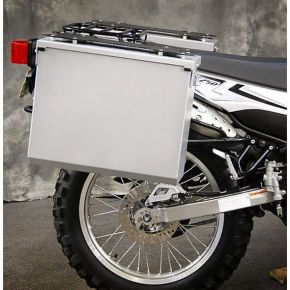 Happy Trails Products Aluminum Pannier Kit TETON Yamaha XT250