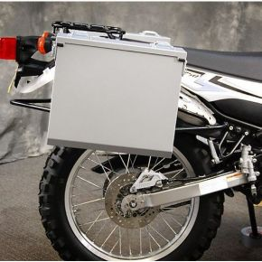 Happy Trails Products Aluminum Pannier Kit OWYHEE Yamaha XT250
