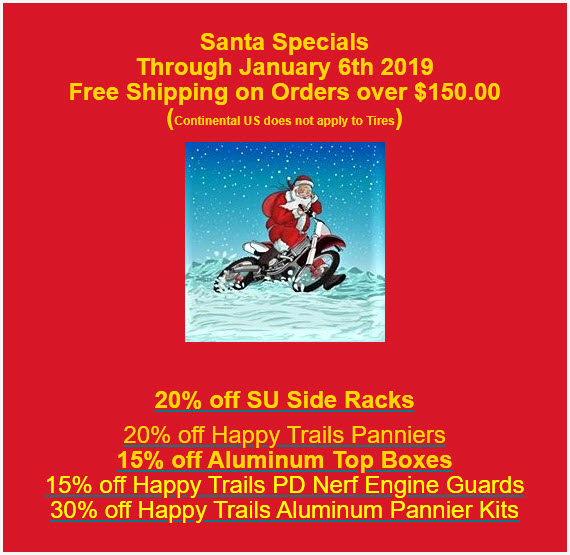 2019 Santa Specials
